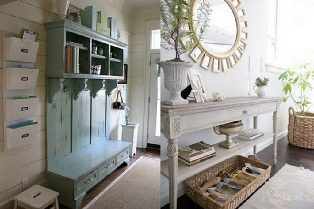 Оформить мебель в стиле прованс своими руками