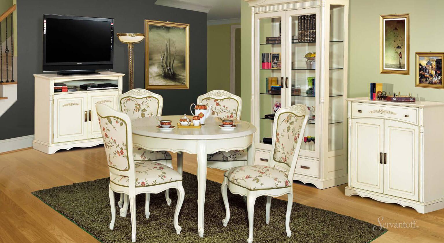 стулья в стиле прованс