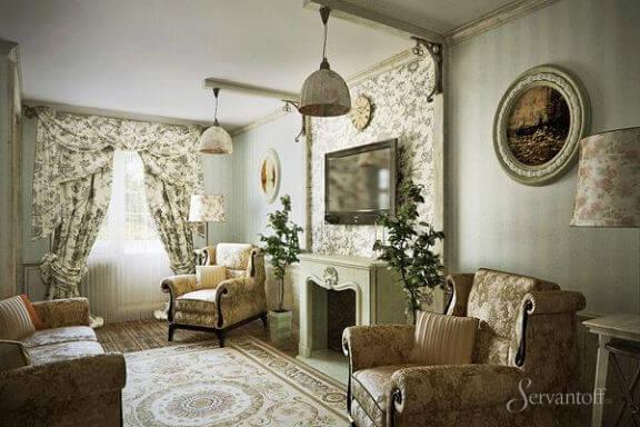 Стиль прованс в интерьере квартиры своими руками