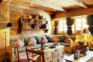 угловой диван для кухни кантри