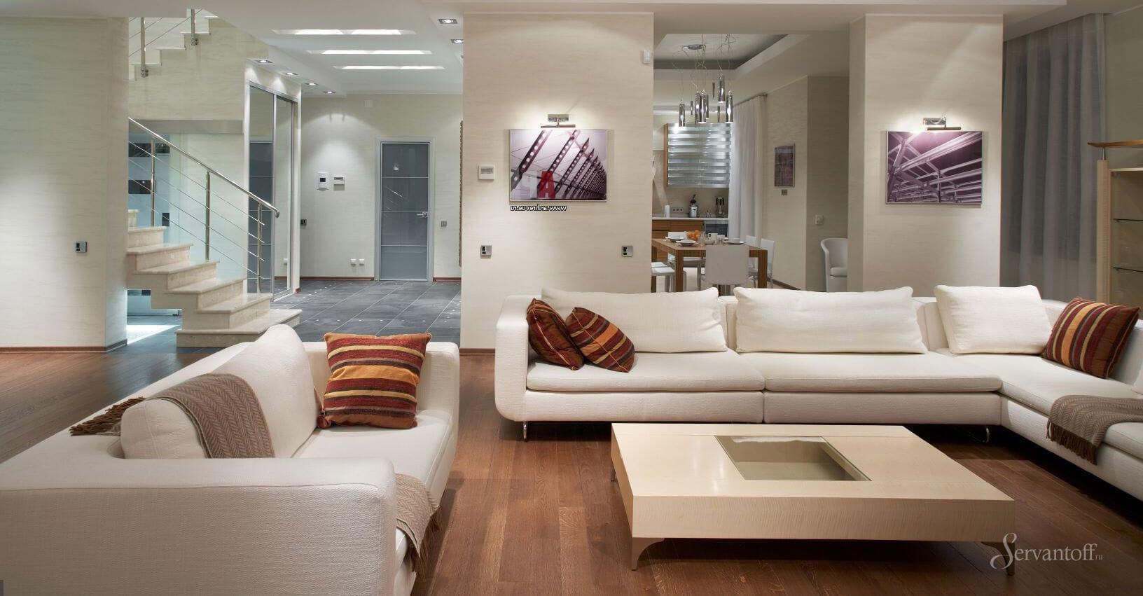Мебель для зала и гостиной в современном стиле