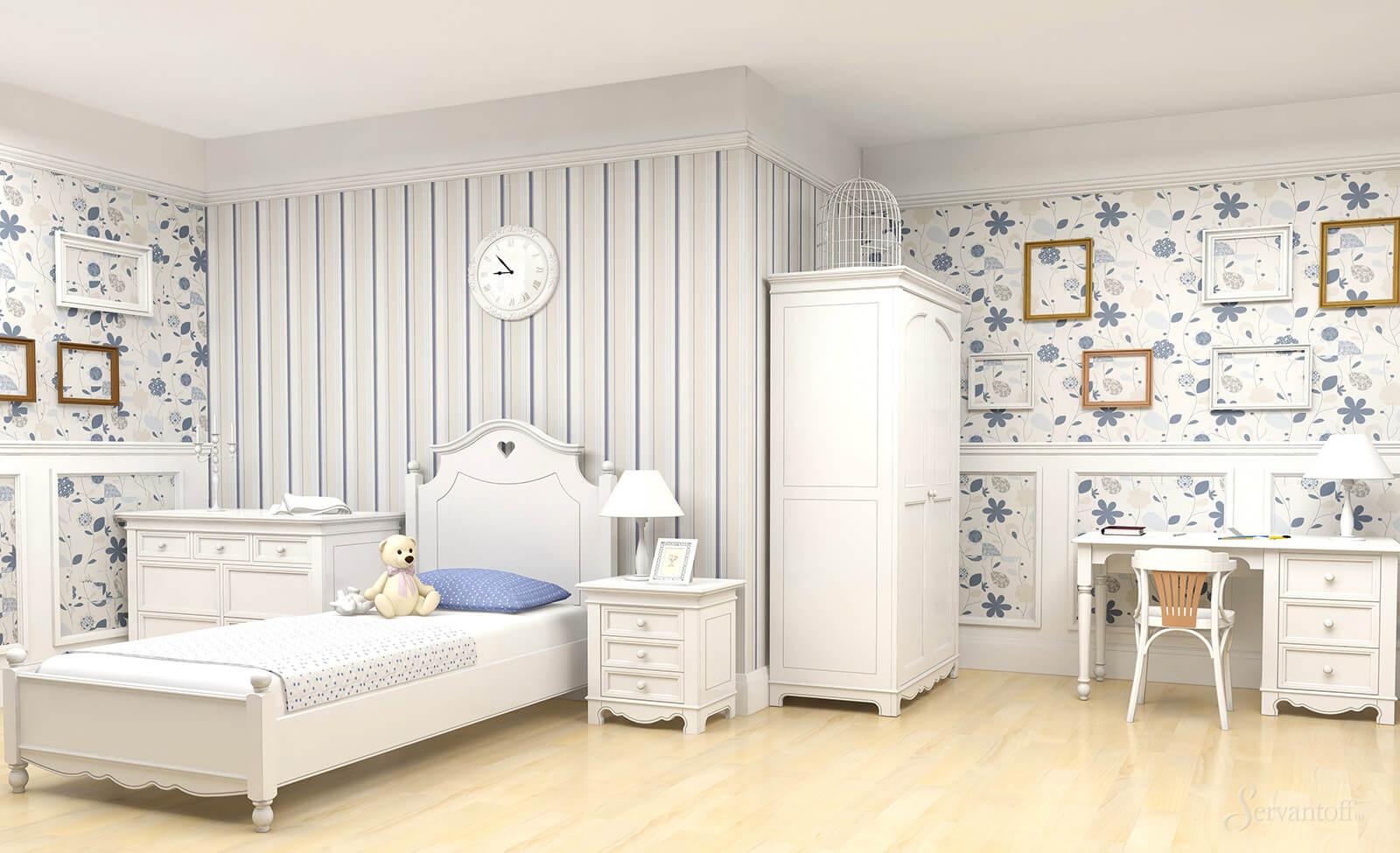 детская комната прованс