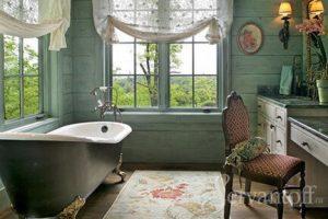 ремонт в ванной в стиле прованс своими руками