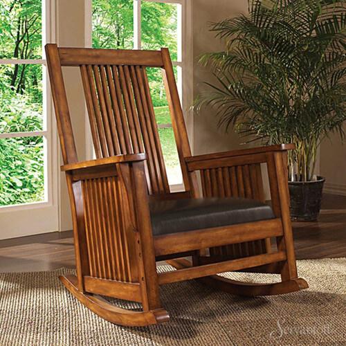 Кресло под старину, кресло качалка под старину