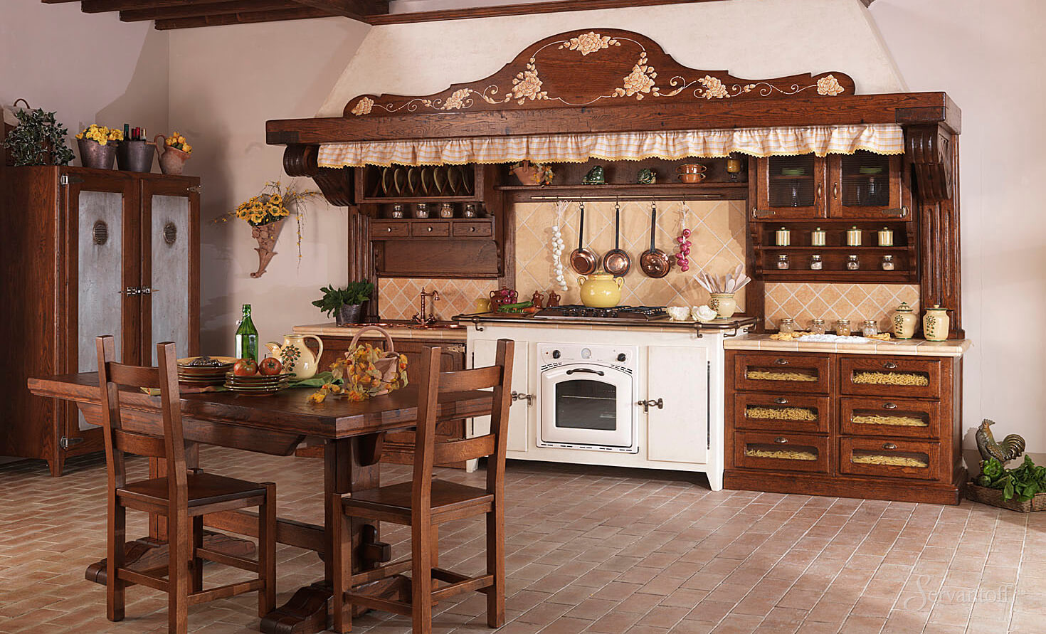мебель для кухни из дерева фото смотря то, что