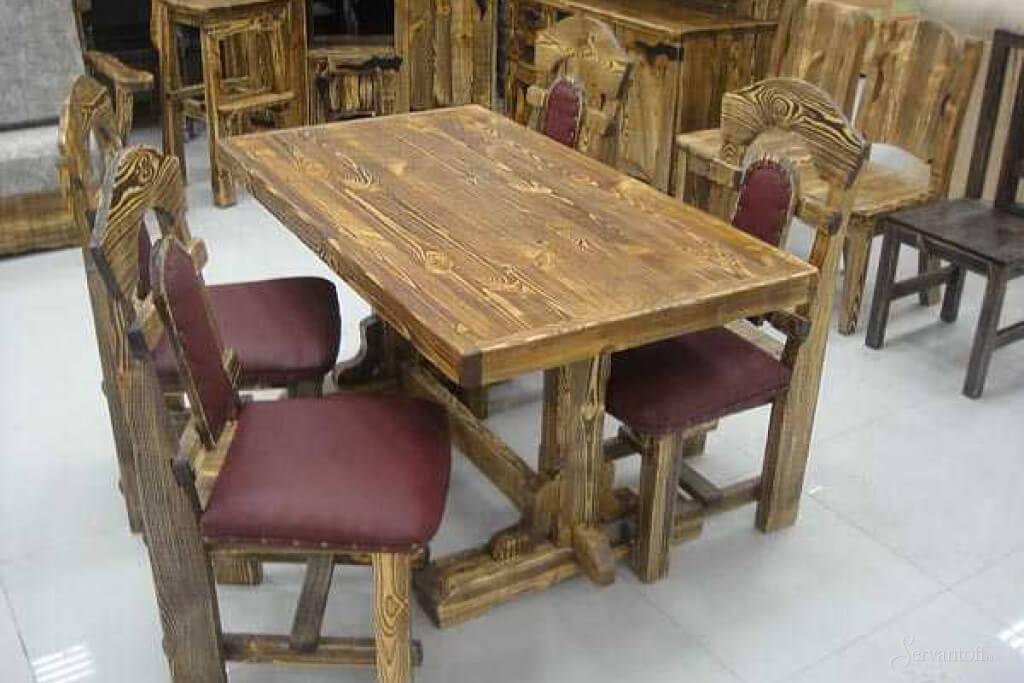 стол под старину своими руками