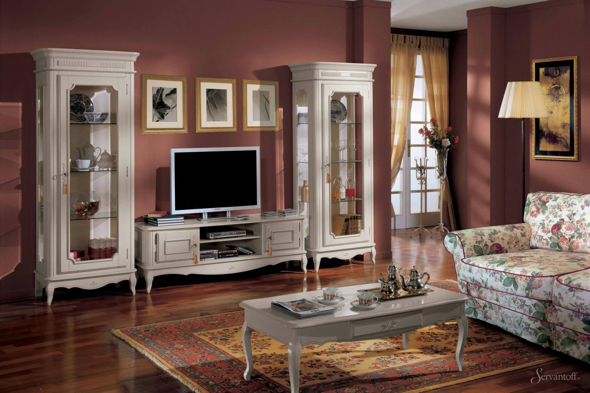 Мебель для зала классика дизайн