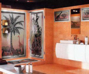 африканский стиль в ванной
