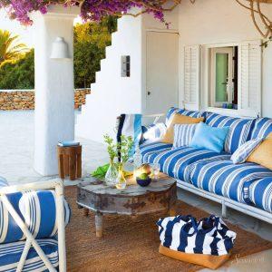 средиземноморский стиль в дизайне балкона