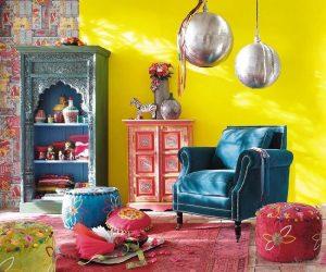 индийский дизайн интерьера