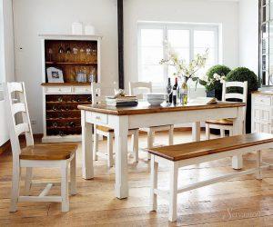 дизайн кухни столовой в скандинавском стиле