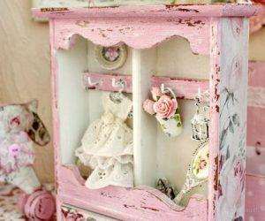 оформление детской комнаты шебби шик