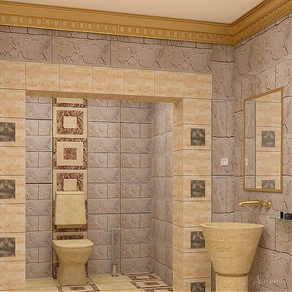 Дизайн прихожей в египетском стиле