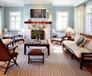 мебель в гостиную в американском стиле