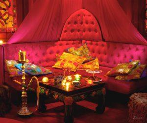 индийский стиль в дизайне комнаты