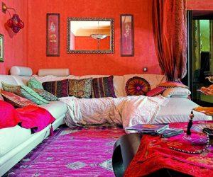 дизайн квартиры в индийском стиле