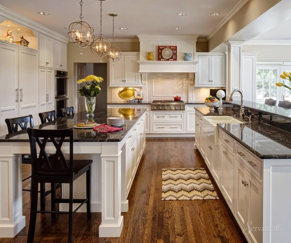 Дизайн кухни в американском стиле