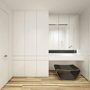 мебель для прихожей в стиле минимализм