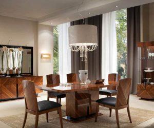 модерн в интерьере столовой