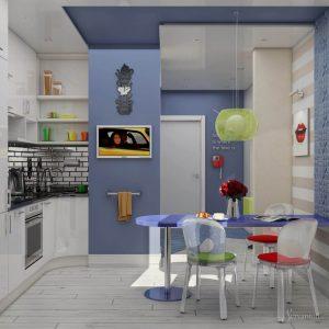 поп арт в дизайне кухни