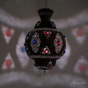 подвесные светильники в восточном стиле