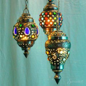 турецкие светильники в восточном стиле
