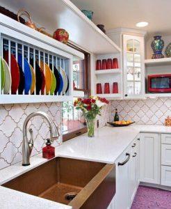стиль бохо в дизайне кухни