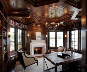 домашний кабинет в классическом стиле