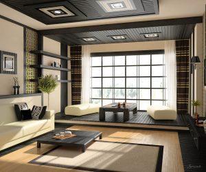 японская гостиная