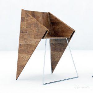минималистичный дизайн кресла