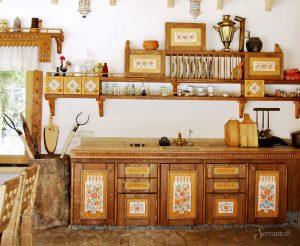 деревянная мебель в русском стиле