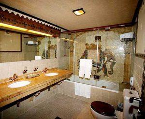 индийский стиль в ванной
