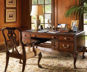 оформление домашнего кабинета в классическом стиле