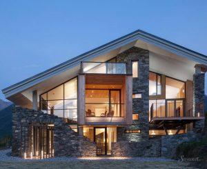 загородные дома в альпийском стиле
