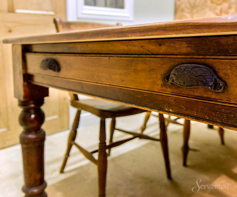 мебель из массива под старину