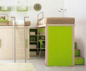 интерьер детской комнаты в стиле минимализм