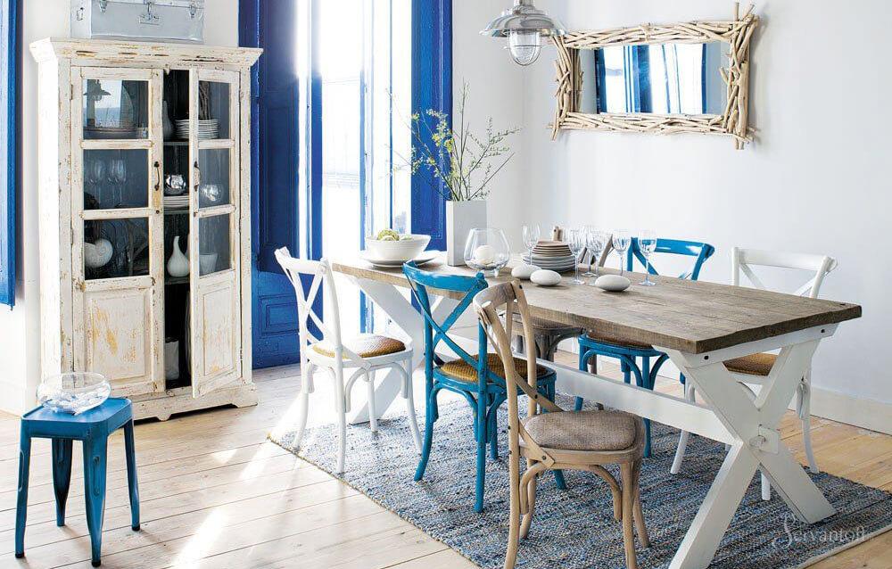 мебель в средиземноморском стиле в интерьере