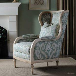 кресло каминное в английском стиле