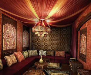 восточный стиль в дизайне интерьера