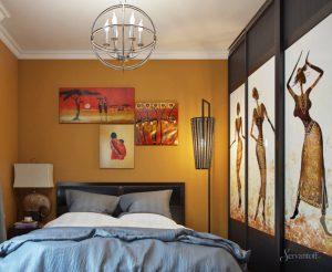 африканский дизайн спальни