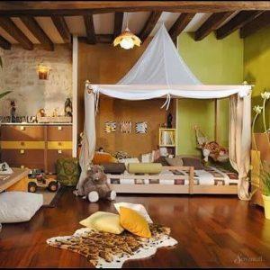 африканский стиль в детской комнате