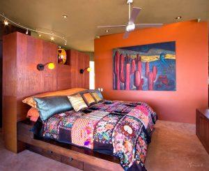 дизайн интерьера интерьер спальни в стиле бохо шик