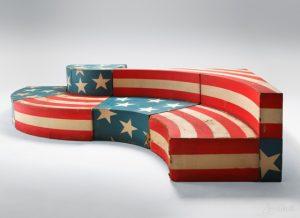 поп арт в дизайне дивана