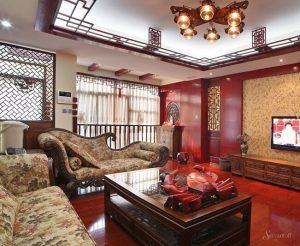 дизайн гостиной в китайском стиле