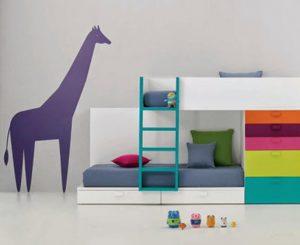 детская мебель в стиле минимализм