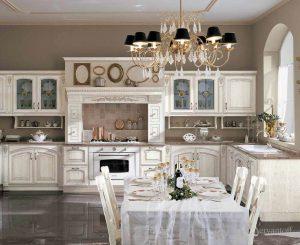 дизайн кухни барокко