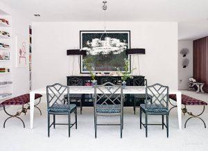 дизайн столовой в средиземноморском стиле