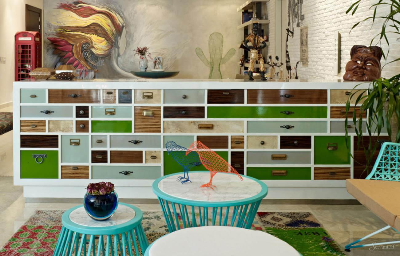 Мебель в стиле эклектика