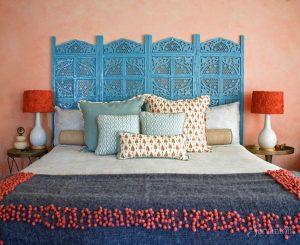 интерьер спальни в индийском стиле