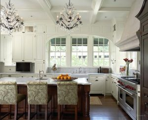 колониальный стиль в дизайне кухни